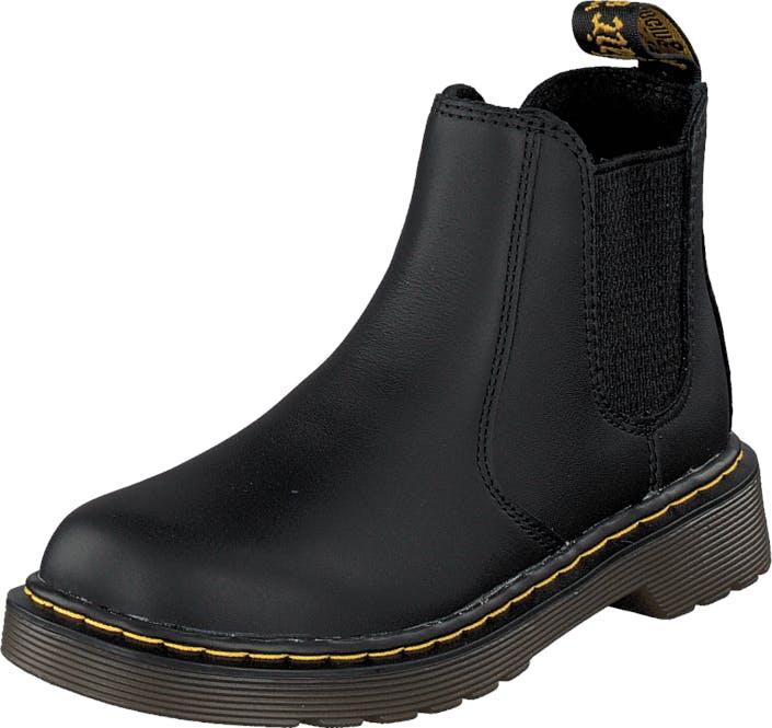 Image of Dr Martens Banzai Black, Kengät, Bootsit, Chelsea boots, Musta, Lapset, 36