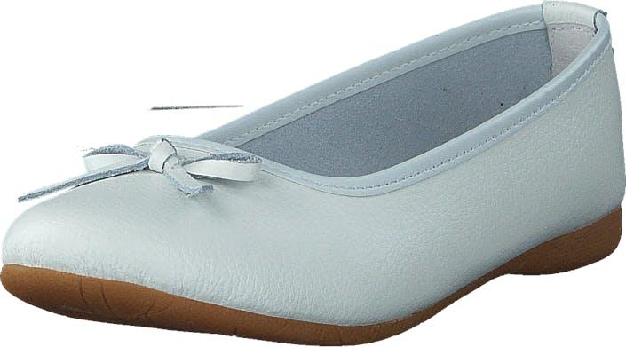 Wildflower Como White, Kengät, Matalat kengät, Ballerinat, Valkoinen, Lapset, 33