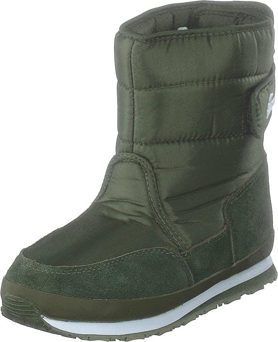 Rubber Duck Rd Nylon Suede Solid Kids Khaki, Kengät, Bootsit, Lämminvuoriset kengät, Vihreä, Lapset, 23