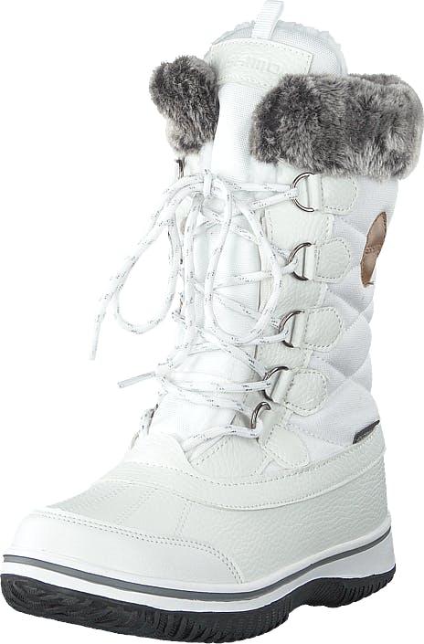 Eskimo Frosty Waterproof White, Kengät, Bootsit, Vaelluskengät, Valkoinen, Lapset, 30