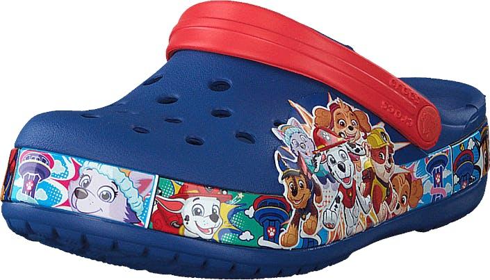 Crocsfl Paw Patrol Band Clg K Blue Jean, Kengät, Sandaalit ja Tohvelit, Crocsit, Sininen, Lapset, 19