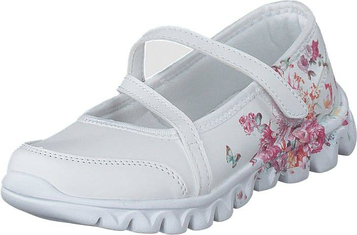 Wildflower Ragna White, Kengät, Matalat kengät, Maryjane-kengät, Valkoinen, Lapset, 27