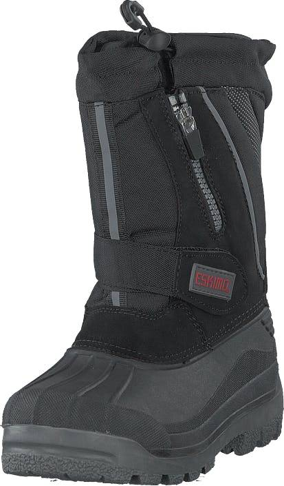 Eskimo Scooter Black, Kengät, Bootsit, Lämminvuoriset kengät, Musta, Lapset, 28