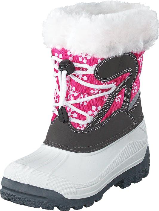 Eskimo Stampe Ii Fuxia, Kengät, Bootsit, Lämminvuoriset kengät, Harmaa, Lapset, 27