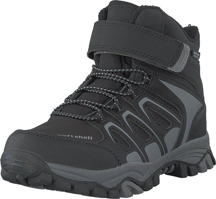 Gulliver 435-0509 Waterproof Warm Lined Black, Kengät, Bootsit, Vaelluskengät, Musta, Unisex, 28