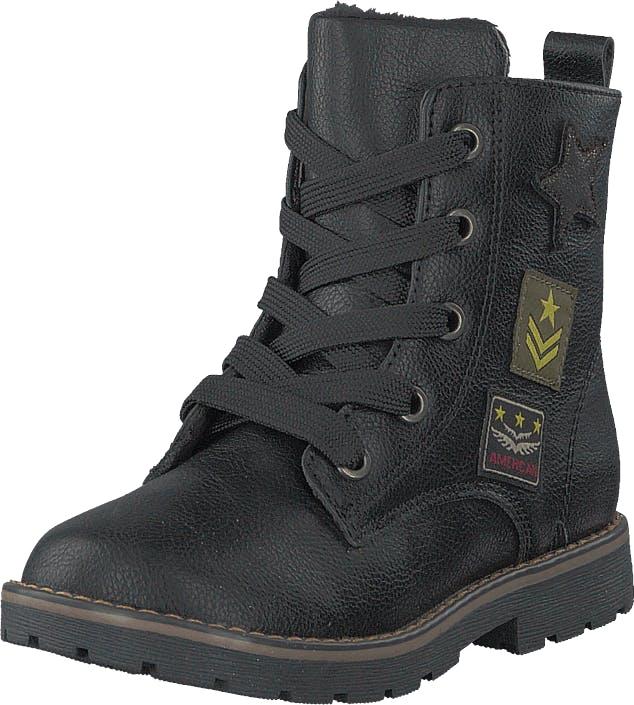 Gulliver 423-7182 Black, Kengät, Bootsit, Korkeavartiset bootsit, Musta, Lapset, 20