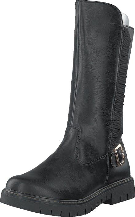 Gulliver 423-9006 Black, Kengät, Bootsit, Korkeavartiset bootsit, Harmaa, Lapset, 29