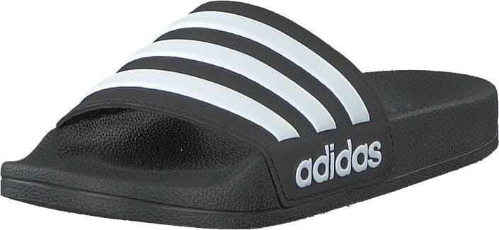 Adidas Sport Performance Adilette Shower K Core Black/ftwr White/core Bla, Kengät, Sandaalit ja Tohvelit, Remmisandaalit, Musta, Lapset, 34