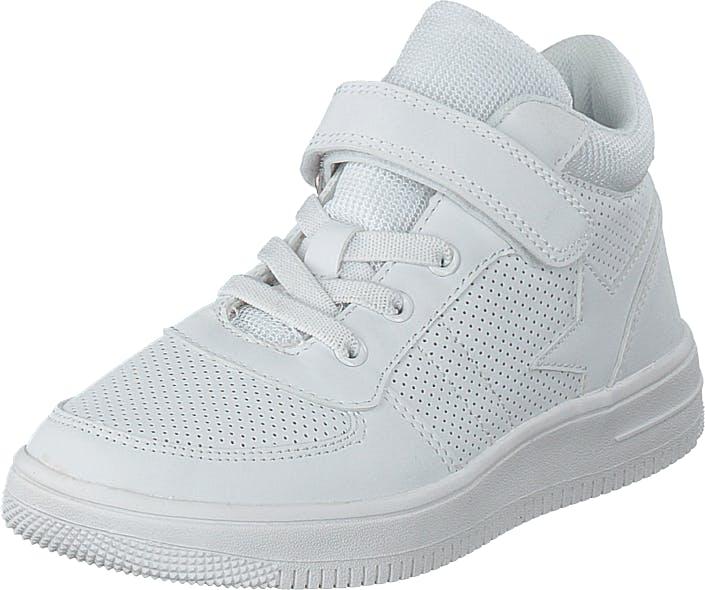 Gulliver Boots White, Kengät, Tennarit ja Urheilukengät, Sneakerit, Valkoinen, Lapset, 27