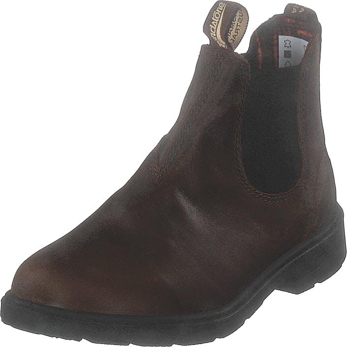 Blundstone 1468 Antique Brown, Kengät, Bootsit, Chelsea boots, Ruskea, Lapset, 33