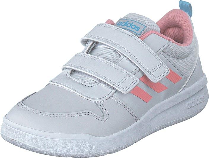 Adidas Sport Performance Tensaur C Dash Grey/glory Pink/bright Cy, Kengät, Tennarit ja Urheilukengät, Sneakerit, Sininen, Lapset, 32