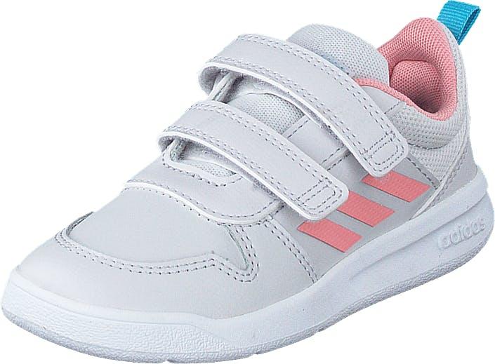 Adidas Sport Performance Tensaur I Dash Grey/glory Pink/bright Cy, Kengät, Tennarit ja Urheilukengät, Sneakerit, Sininen, Valkoinen, Lapset, 22