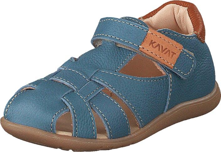 Kavat Rullsand Ep Blue Heaven, Kengät, Matalat kengät, Slip on, Ruskea, Turkoosi, Lapset, 24