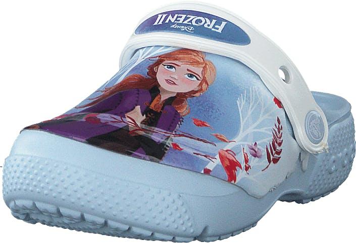 Crocs Fl Disney Frozen 2 Clg K Mineral Blue, Kengät, Sandaalit ja Tohvelit, Sporttisandaalit, Sininen, Lapset, 20