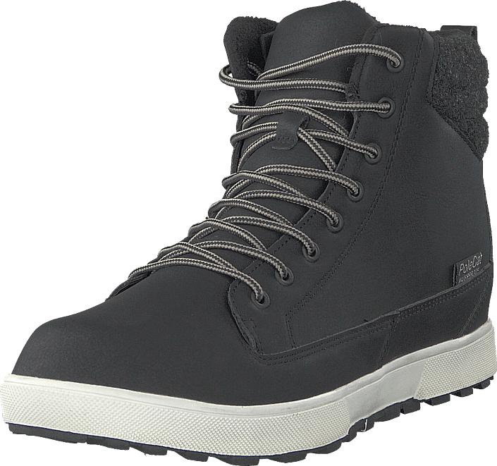 Polecat 430-3957 Waterproof Warm Lined Black, Kengät, Sneakerit ja urheilukengät, Korkeavartiset tennarit, Musta, Unisex, 43