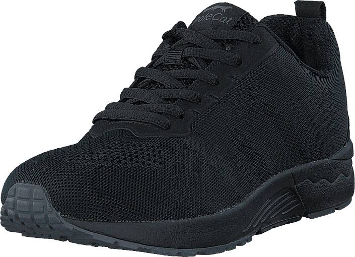 Polecat 435-3410 Black, Kengät, Sneakerit ja urheilukengät, Varrettomat tennarit, Musta, Unisex, 36