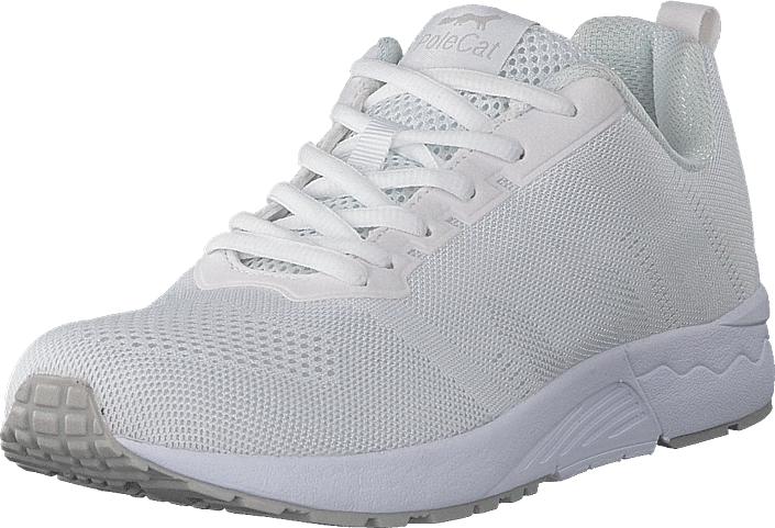 Polecat 435-3410 White, Kengät, Sneakerit ja urheilukengät, Sneakerit, Sininen, Unisex, 43