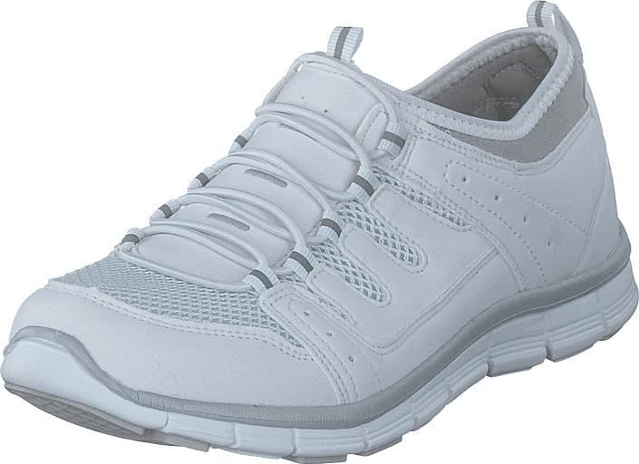 Polecat 435-2311 Comfort Sock White, Kengät, Sneakerit ja urheilukengät, Urheilukengät, Sininen, Naiset, 39