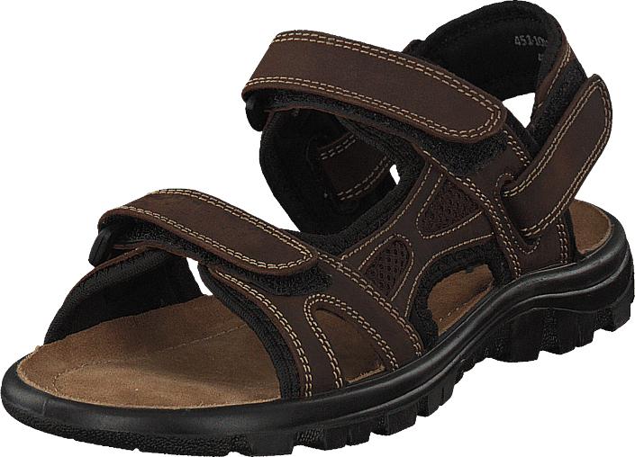 Polecat 451-1043 Dark Brown, Kengät, Sandaalit ja tohvelit, Sporttisandaalit, Ruskea, Unisex, 36