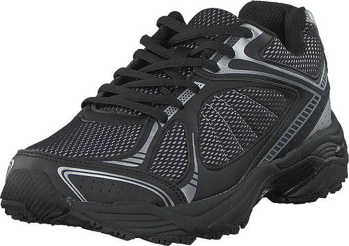 Image of Scholl New Sprinter Black/grey, Kengät, Sneakerit ja urheilukengät, Tennarit, Harmaa, Unisex, 36