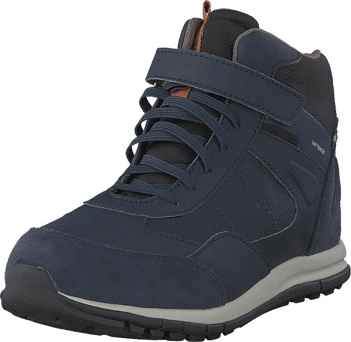 Kavat Broby Wp Blue, Kengät, Sneakerit ja urheilukengät, Korkeavartiset sneakerit, Violetti, Sininen, Unisex, 33
