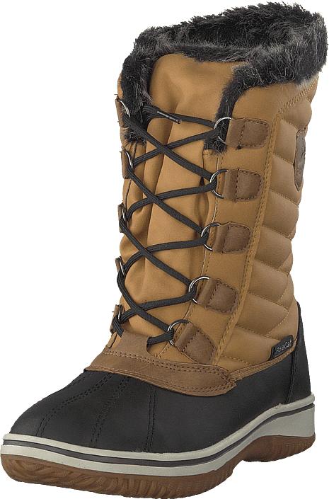 Polecat 430-2926 Waterproof Warm Lined Yellow, Kengät, Bootsit, Lämminvuoriset kengät, Ruskea, Naiset, 37