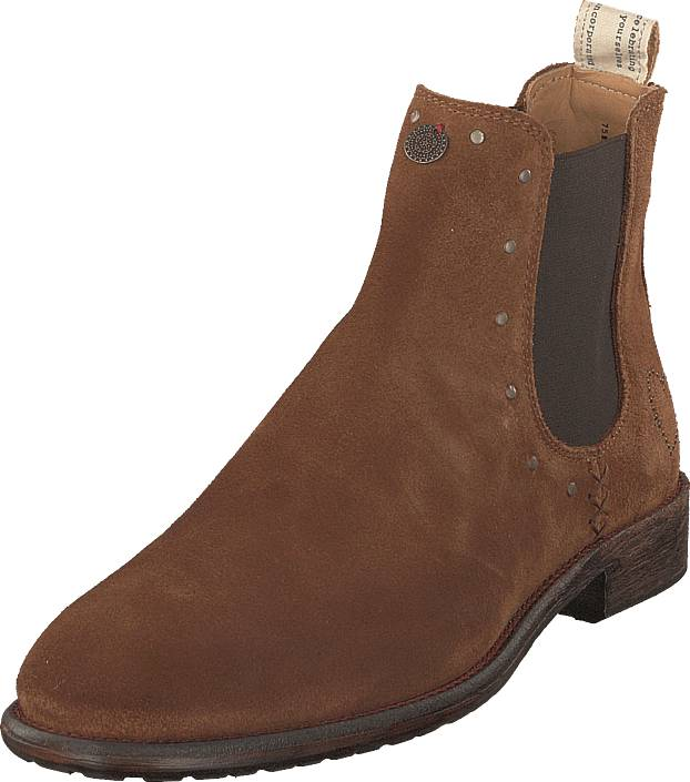 Odd Molly Mollyhood Low Suede Brown, Kengät, Bootsit, Chelsea boots, Ruskea, Naiset, 38