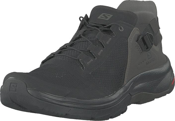 Salomon Techamphibian 4 Black/beluga/castor Gray, Kengät, Sneakerit ja urheilukengät, Tennarit , Harmaa, Musta, Miehet, 47