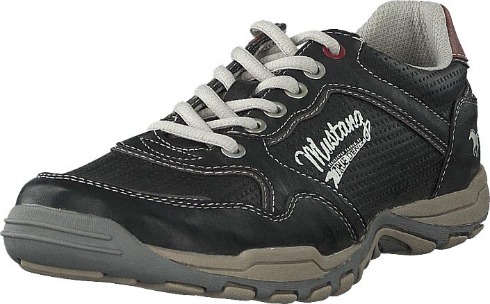 Mustang 4027320 200 Stein, Kengät, Sneakerit ja urheilukengät, Tennarit , Harmaa, Musta, Miehet, 45
