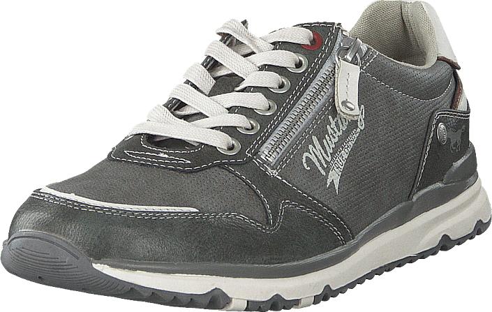 Mustang 4095316 20 Dunkelgrau, Kengät, Sneakerit ja urheilukengät, Sneakerit, Harmaa, Miehet, 43
