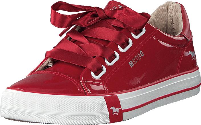 Mustang 1313301 5 Rot, Kengät, Sneakerit ja urheilukengät, Varrettomat tennarit, Punainen, Naiset, 41