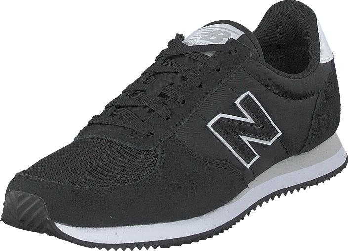 Image of New Balance U220fi Black/white, Kengät, Sneakerit ja urheilukengät, Sneakerit, Musta, Unisex, 36