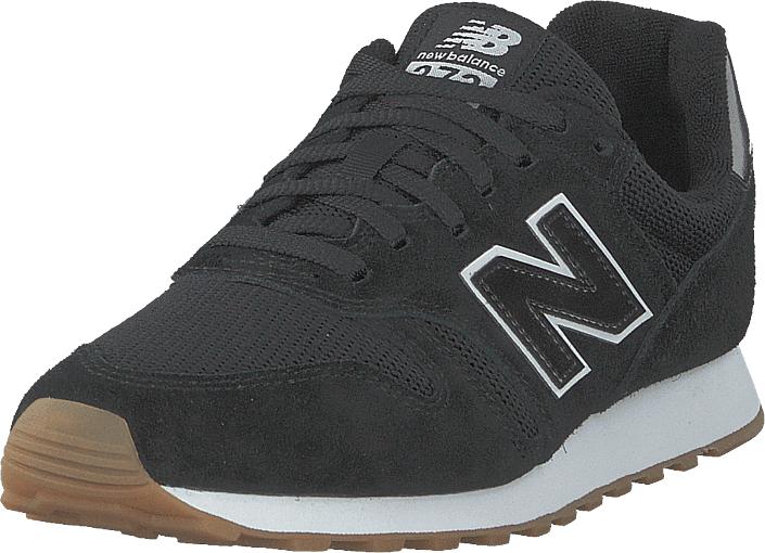 Image of New Balance Wl373btw Black/white, Kengät, Sneakerit ja urheilukengät, Sneakerit, Musta, Naiset, 38