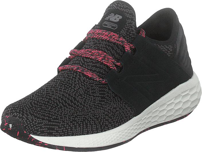 Image of New Balance Wcruzdm2 Black/green, Kengät, Sneakerit ja urheilukengät, Sneakerit, Musta, Naiset, 36