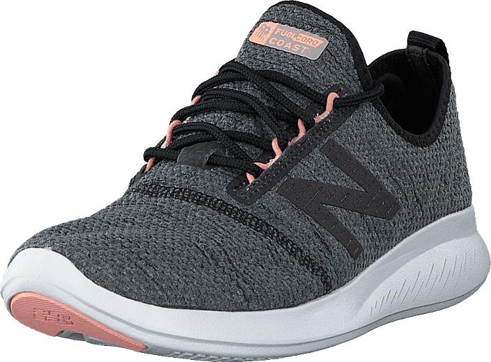 Image of New Balance Wcstlrt4 Black, Kengät, Sneakerit ja urheilukengät, Urheilukengät, Harmaa, Naiset, 38