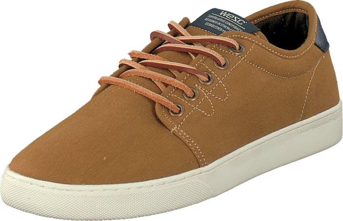 WeSC Off Deck Sneaker Brown, Kengät, Tennarit ja Urheilukengät, Varrettomat tennarit, Ruskea, Unisex, 41