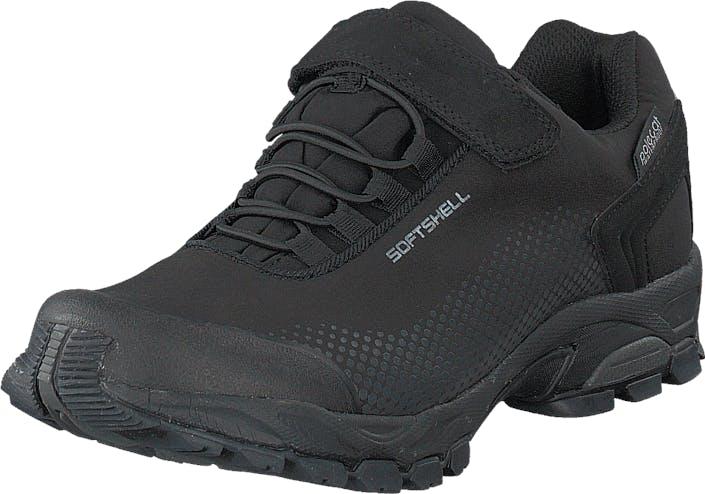 Polecat 430-1598 Waterproof Black, Kengät, Tennarit ja Urheilukengät, Tennarit, Musta, Unisex, 46