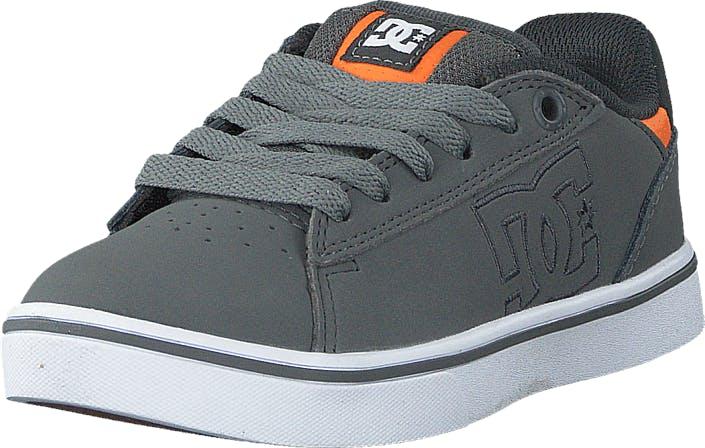 DCShoe Shoes Dc Kids Notch B Shoe Grey, Kengät, Tennarit ja Urheilukengät, Sneakerit, Harmaa, Lapset, 30