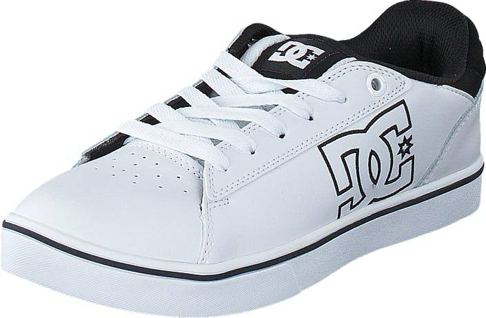 DCShoe Shoes Dc Kids Notch B Shoe White, Kengät, Tennarit ja Urheilukengät, Varrettomat tennarit, Valkoinen, Lapset, 29