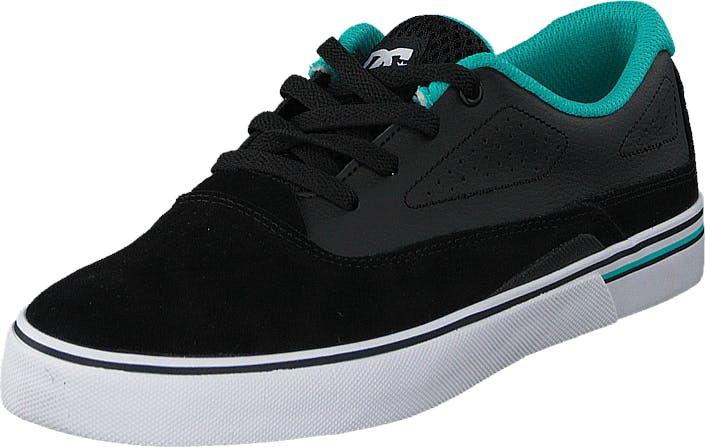 DCShoe Shoes Dc Kids Sultan B Shoe Black/Blue, Kengät, Tennarit ja Urheilukengät, Varrettomat tennarit, Sininen, Lapset, 29