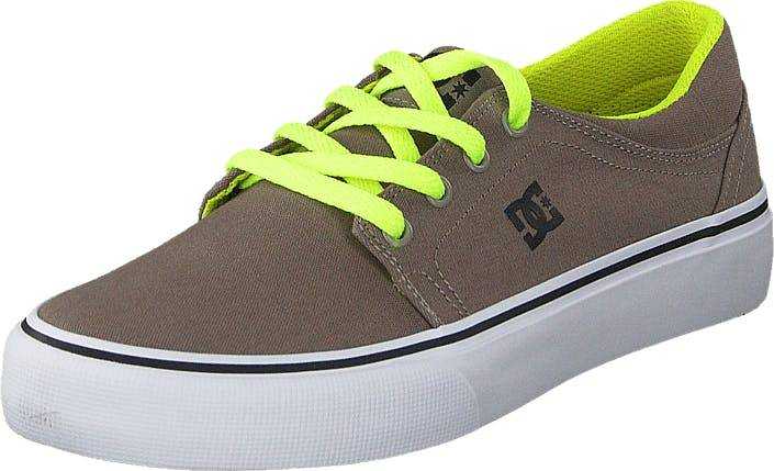 DCShoe Shoes Dc Kids Trase Tx Shoe Taupe, Kengät, Tennarit ja Urheilukengät, Varrettomat tennarit, Ruskea, Lapset, 29