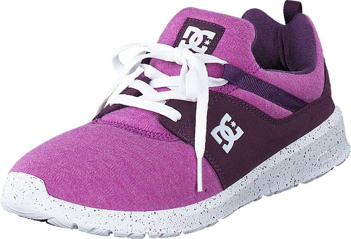 DCShoe Shoes Dc Heathrow Se J Shoe Purple, Kengät, Tennarit ja Urheilukengät, Urheilukengät, Vaaleanpunainen, Violetti, Naiset, 36