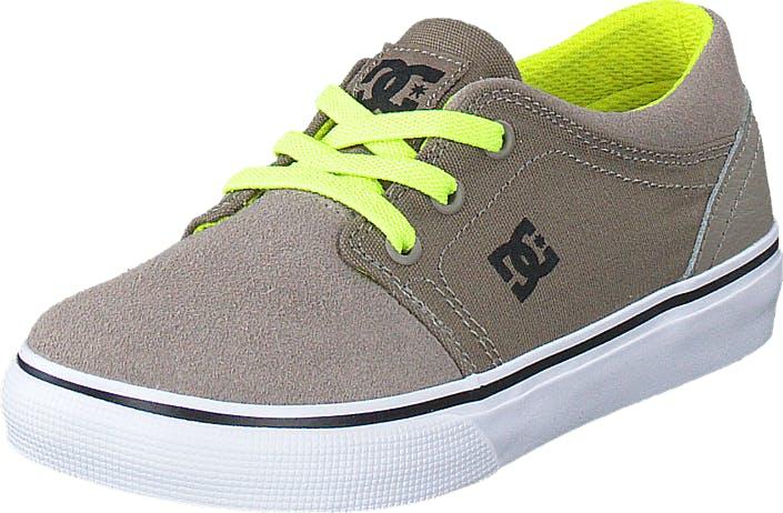 DCShoe Shoes Dc Tod Trase Slip T Shoe Taupe, Kengät, Tennarit ja Urheilukengät, Varrettomat tennarit, Ruskea, Lapset, 20