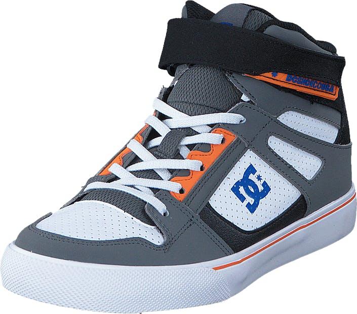 DCShoe Shoes Dc Kids Spartan High Ev B Shoe Grey/Blue/White, Kengät, Tennarit ja Urheilukengät, Korkeavartiset tennarit, Sininen, Lapset, 28