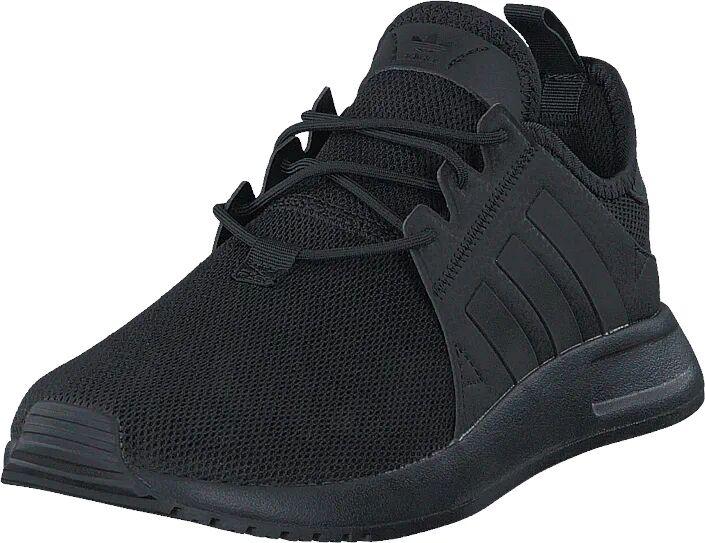 Image of Adidas Originals X_Plr Core Black/Trace Grey Met. F17, Kengät, Sneakerit ja urheilukengät, Sneakerit, Musta, Unisex, 38