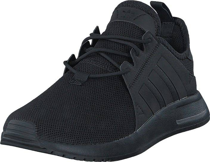 Image of Adidas Originals X_Plr Core Black/Trace Grey Met. F17, Kengät, Sneakerit ja urheilukengät, Sneakerit, Musta, Unisex, 45