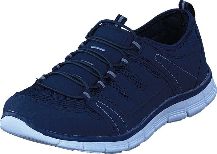 Polecat 435-2311 Comfort Sock Navy Blue, Kengät, Tennarit ja Urheilukengät, Urheilukengät, Sininen, Unisex, 45