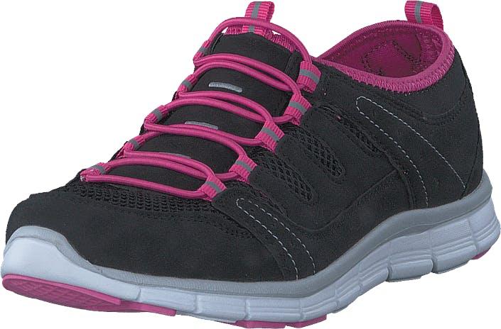 Polecat 435-2311 Comfort Sock Black/Fuchsia, Kengät, Tennarit ja Urheilukengät, Urheilukengät, Musta, Naiset, 38