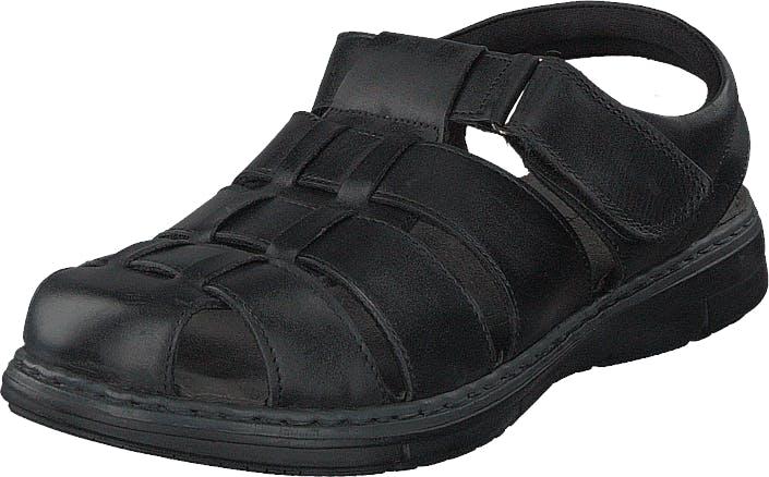 Senator 451-0004 Black, Kengät, Sandaalit ja tohvelit, Sporttisandaalit, Musta, Miehet, 40