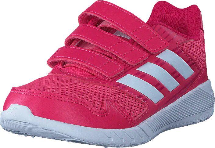 Image of Adidas Sport Performance Altarun Cf K Real Pink/Ftwr Wht/Vivid Berry, Kengät, Sneakerit ja urheilukengät, Urheilukengät, Vaaleanpunainen, Lapset, 31